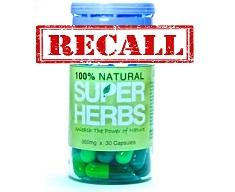 super herbs recall
