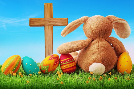 Easter Eggs, Bunnies and the Resurrection