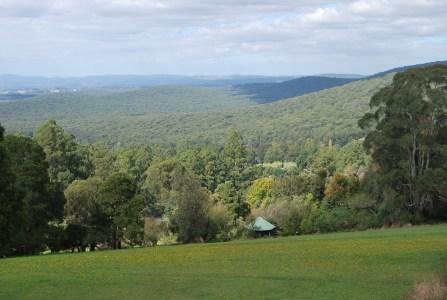 View from Mt Dandenong Victoria Australia