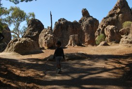 Hanging Rock Mt Macedon