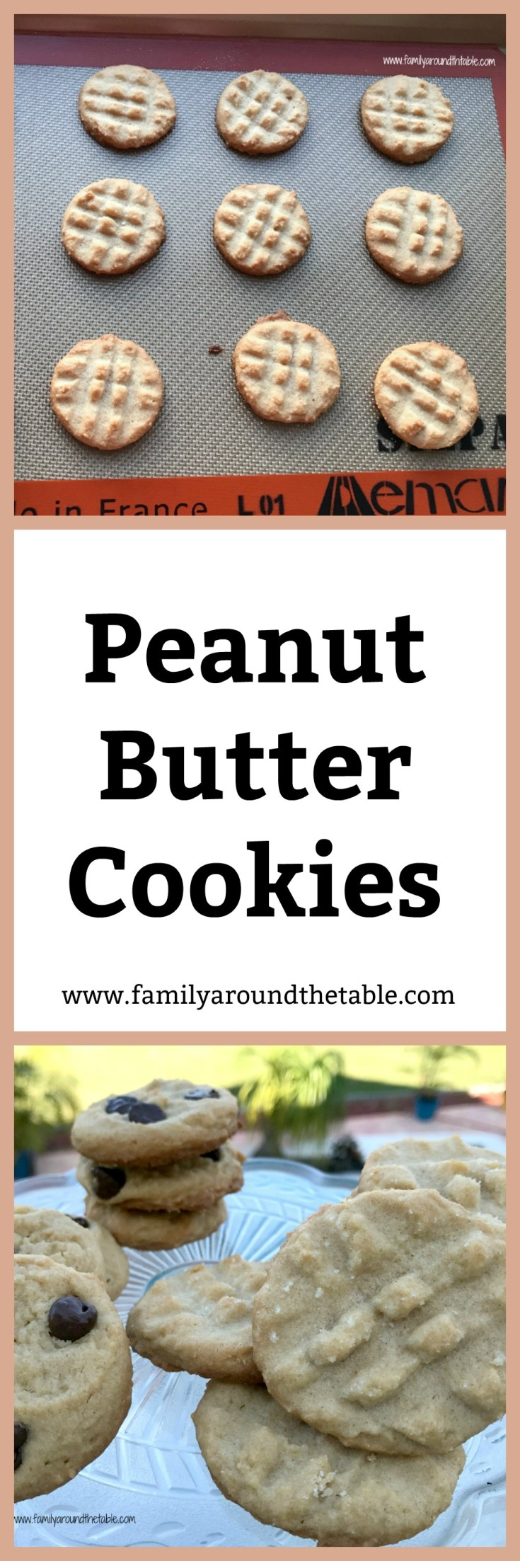 Mix up this peanut butter cookie by adding milk chocolate chips. My family's favorite peanut butter cookie is a great after school snack or lunch box treat.