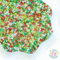 Christmas Cookie Sprinkles Mix - Christmas Sugar Crystals