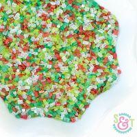 Christmas Cookie Sprinkles Mix - Christmas Sugar Crystals