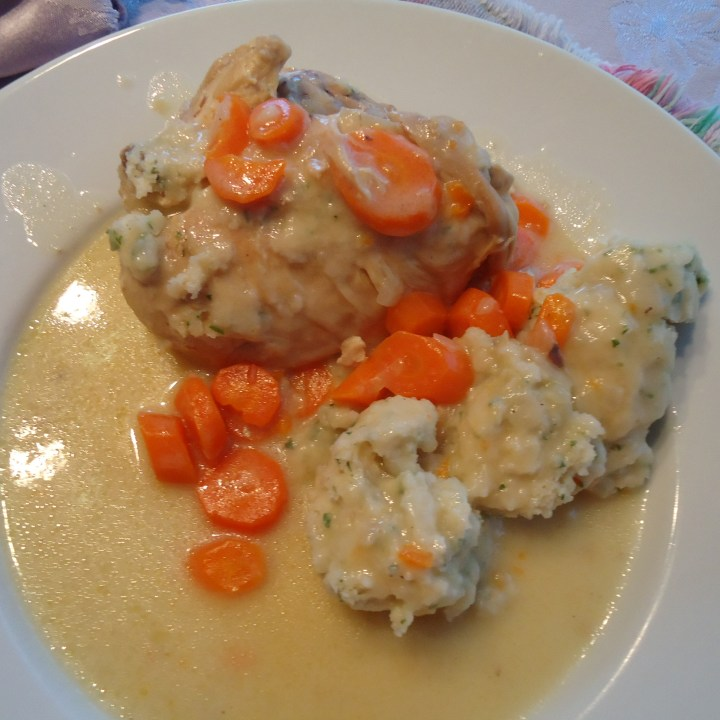Chicken Fricasse is pure comfort food.