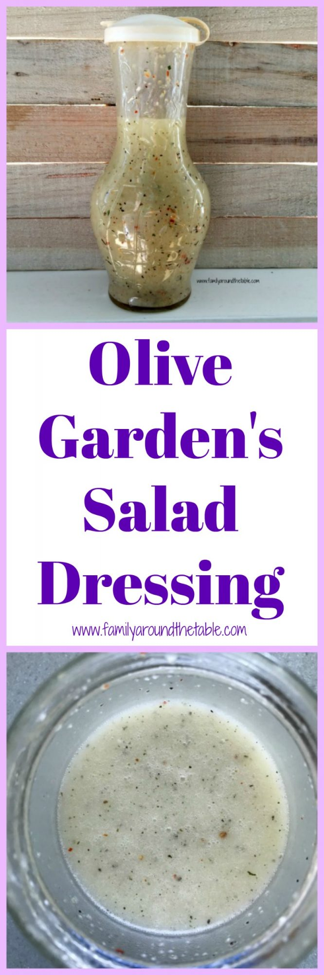 Olive Garden S Salad Dressing Copycat Family Around The