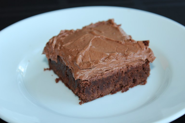 Fudge Frosted Brownies