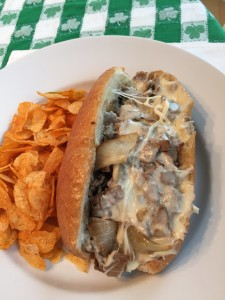 Cheesy Cheesesteak