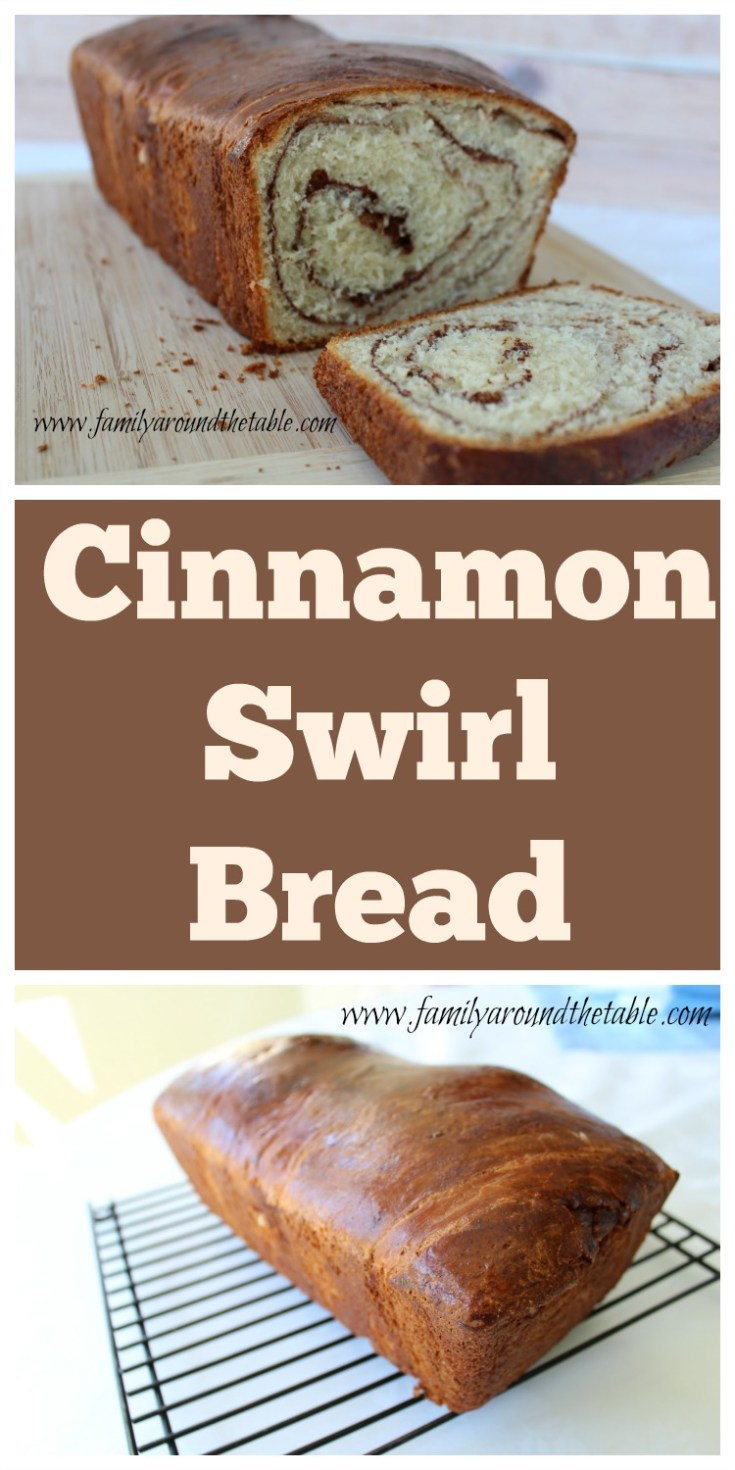 Homemade cinnamon swirl  bread was a hit with my family and it will be with yours too!