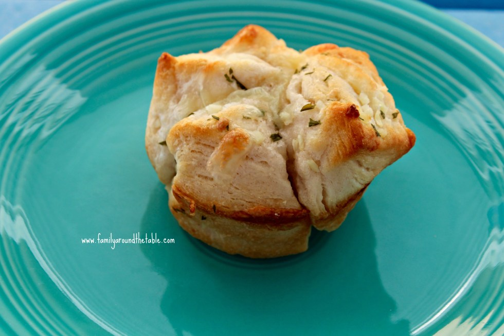 Monkey Bread Biscuits are great with soups and easy enough for kids to help.