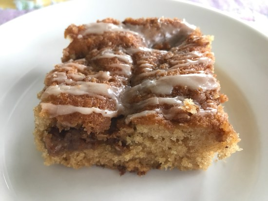 Bake this overnight coffee cake in the morning for a delicious way to start the day.