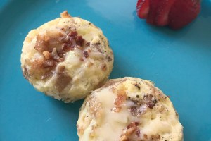 Breakfast Egg Bites #JuneDairyMonth