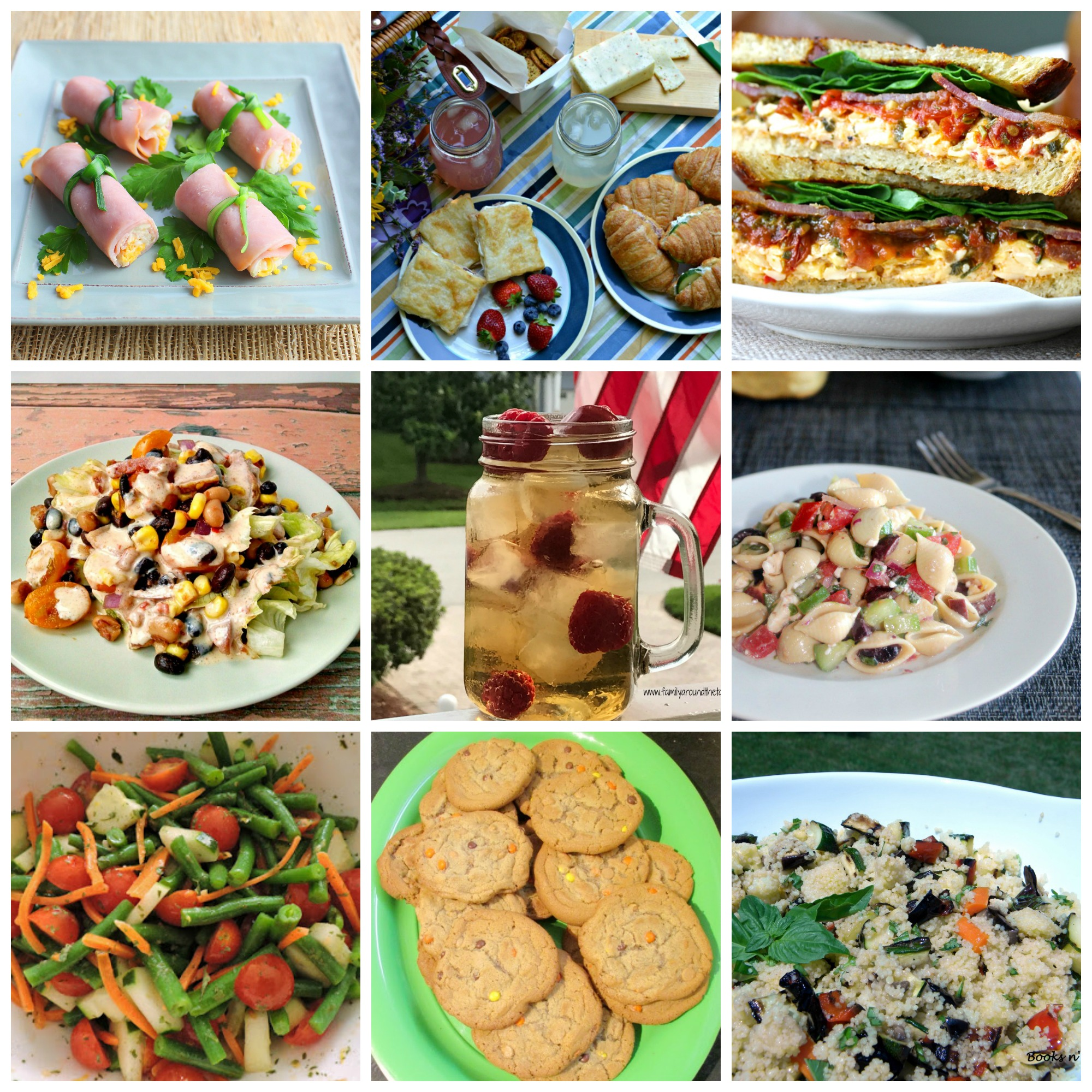 Summer picnic fare