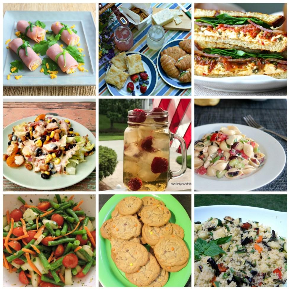 Summer picnic fare