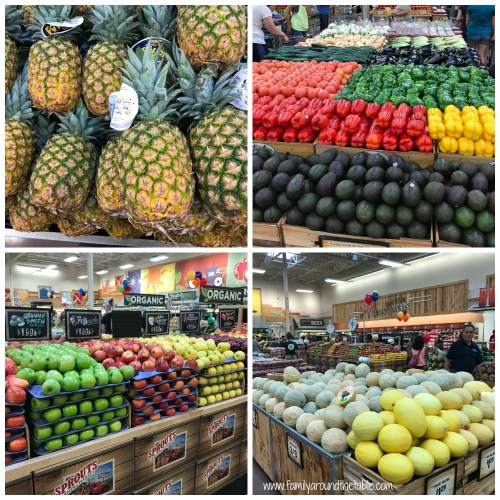 Produce at Sprouts Farmer's Market