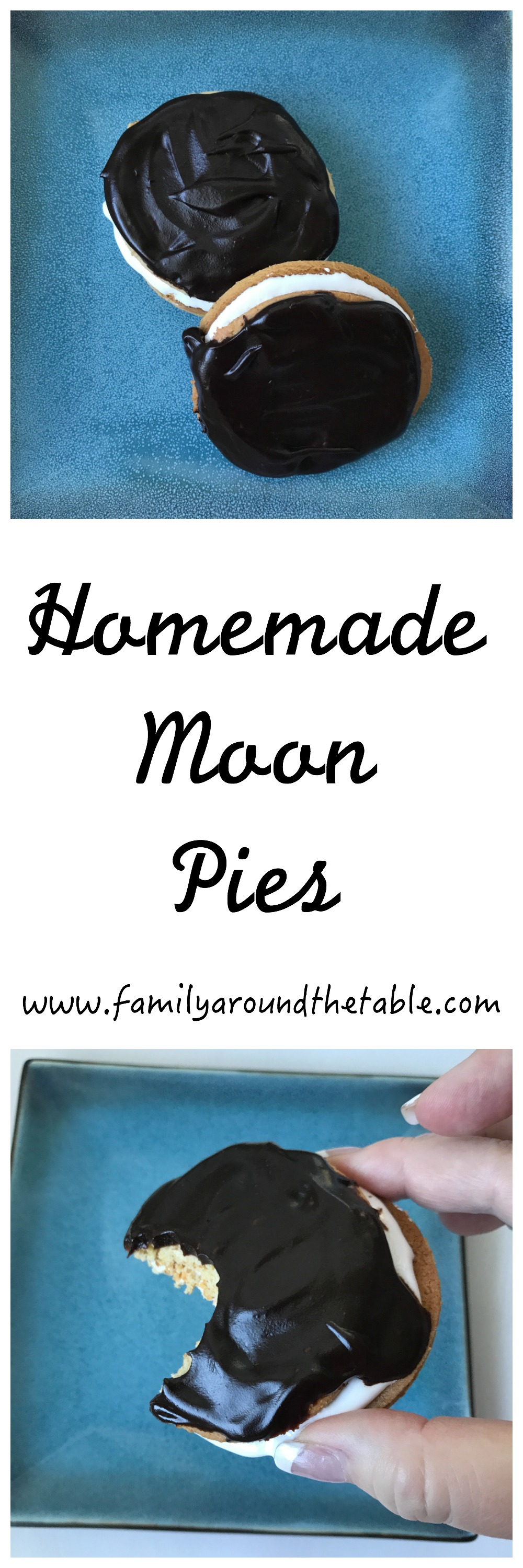 Homemade moon pies are a fun dessert for the total solar eclipse.