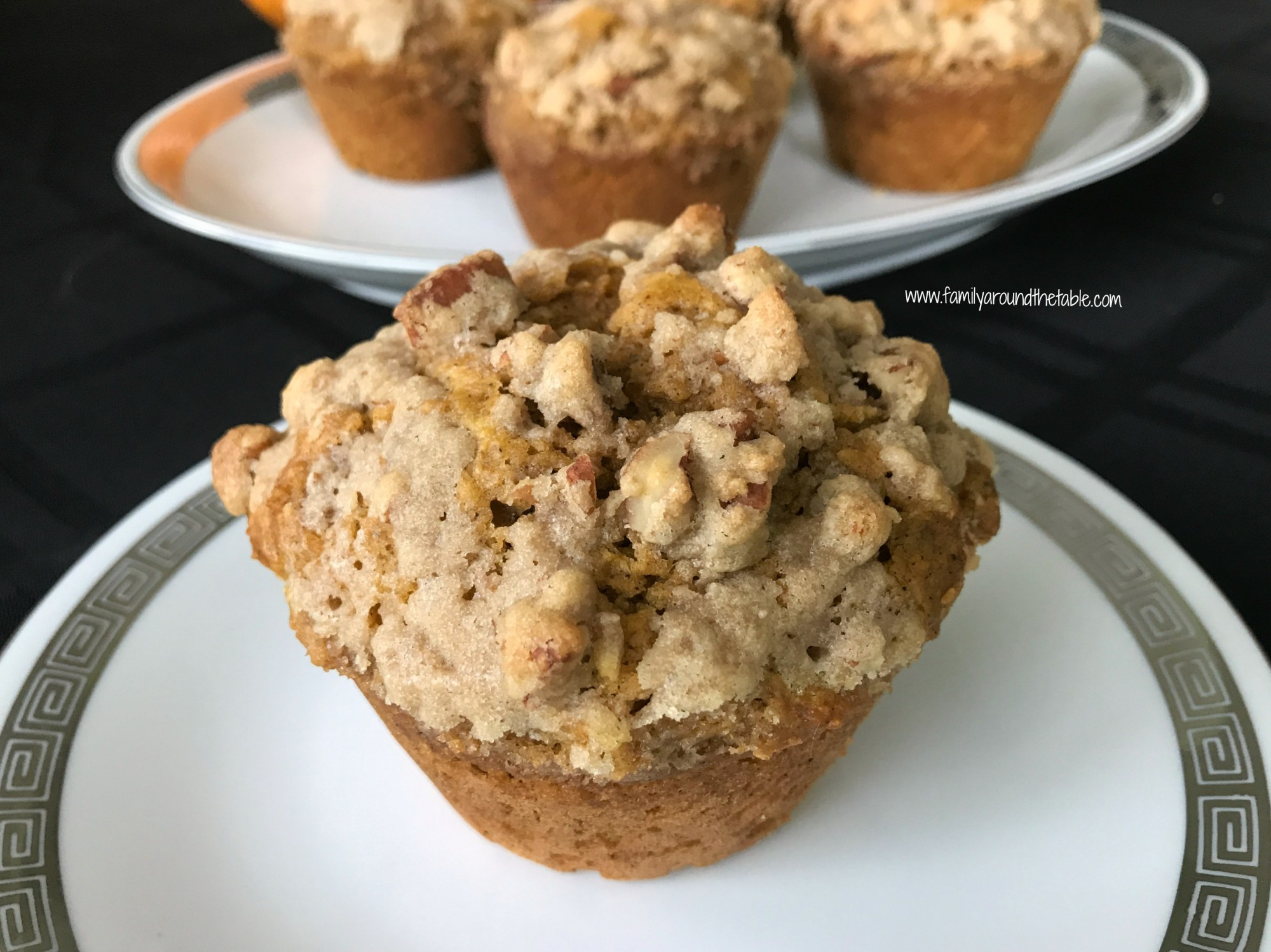 Jumbo Pumpkin Spice Muffins with Streusel Topping