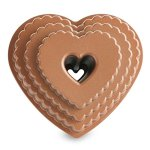 Tiered heart shaped Bundt pan.