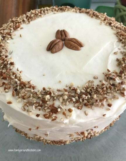 Italian Cream Cake is a delicious dessert.