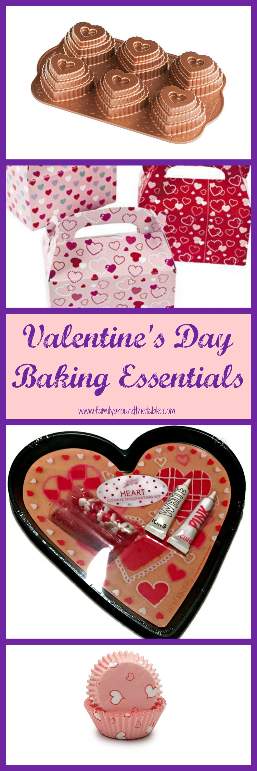 Treat your family to some special baked goods this Valentine's Day!