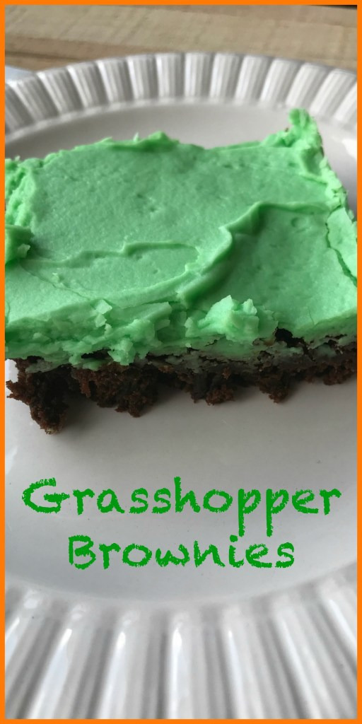Grasshopper brownies are perfect to take to a summer cookout or potluck.