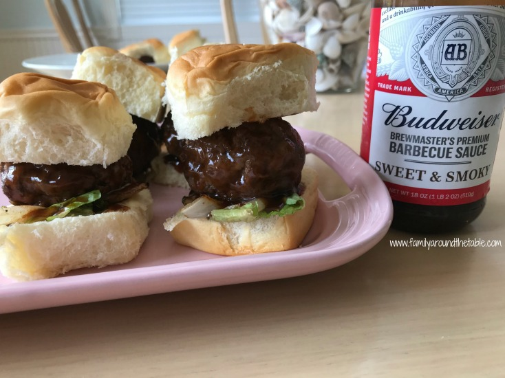 How will you serve Sweet and Smokey Juicy Lucy BBQ Sliders?