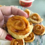 Pimiento cheese pinwheels are perfect for game day or holiday parties.