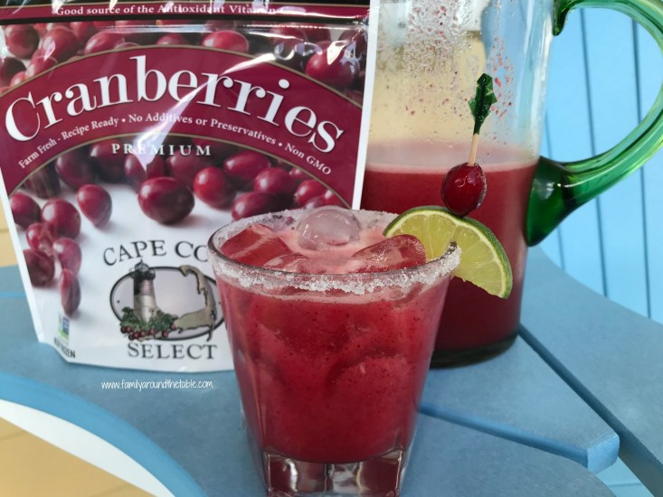 Cranberry lime margaritas are not only refreshing for summer but make a lovely holiday drinks as well.
