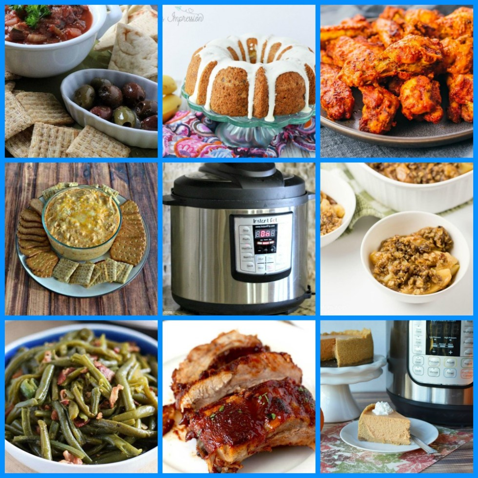 A collection of instant pot recipes.