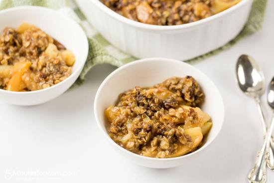 Instant pot apple crisp from 5 Minutes for Mom.