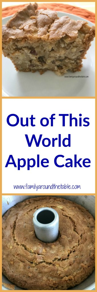 Out of This World Apple Cake is a family favorite from a beloved Savannah,GA institution! #AppleWeek