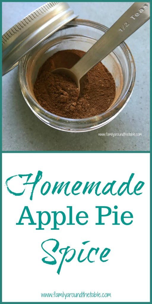 Homemade apple pie spice is easy to whip up with spices you probably already have in your pantry.