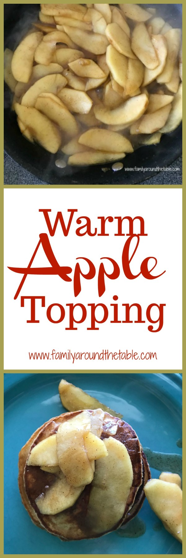 Serve warm apple topping with ice cream, pancakes or waffles. #AppleWeek