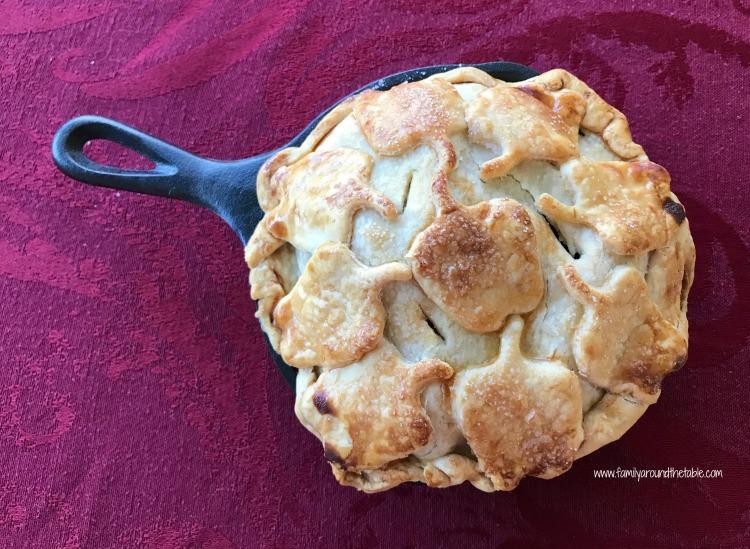 Individual Skillet Apple Pies