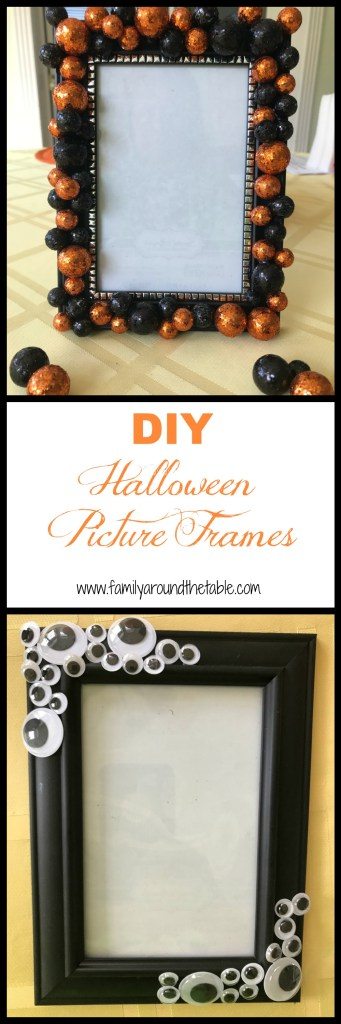 DIY Halloween Photo Frames are easy, cute and fun to make.