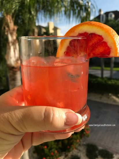 Blood Orange Whiskey Smash #FreakyFruitsFriday