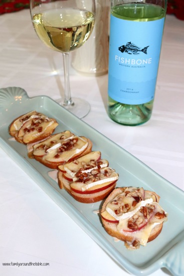 Maple apple brie pecan bites are a quick and easy appetizer for entertaining a small group of friends.
