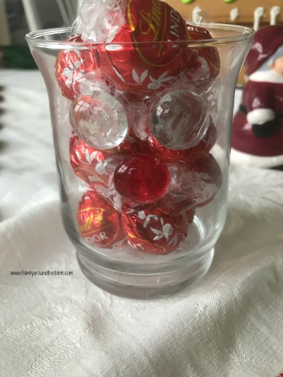 Reindeer candy dish or candle holder
