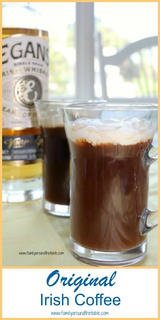 Warm up with a mug of original Irish coffee.