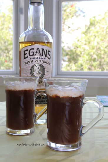 Warm up with a mug of original Irish coffee. #ourfamilytable