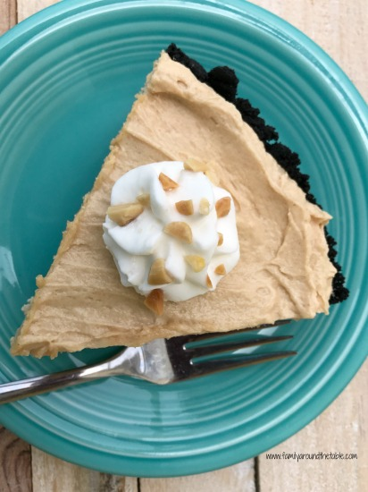 Mom's Peanut Butter Pie with Chocolate Crust