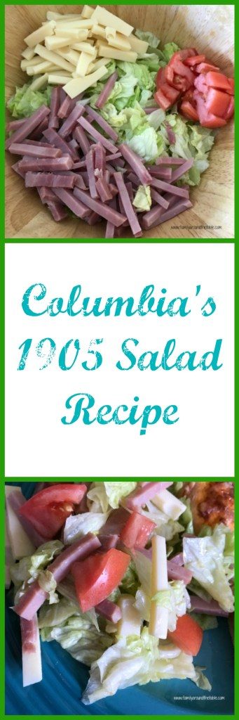 Columbia's 1905 Salad recipe is a family favorite from a local restaurant.
