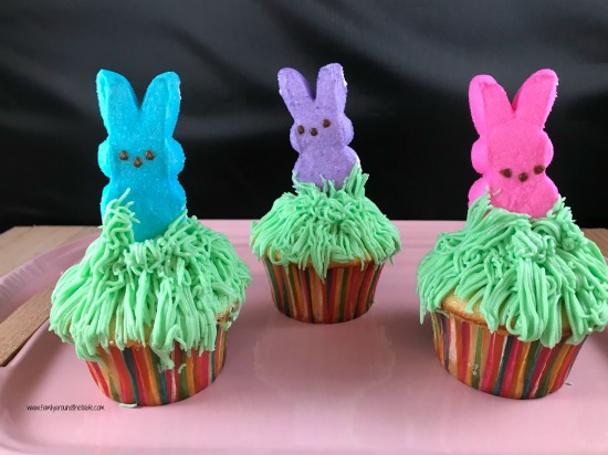 Peeps Bunny Trail Cupcakes will bring smiles on Easter.