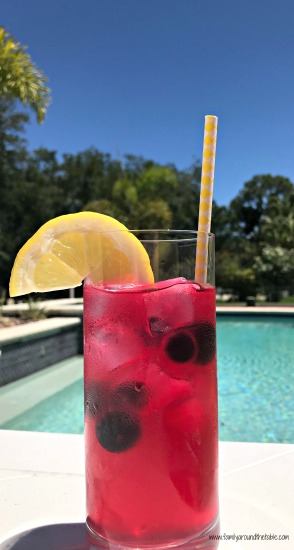 Blueberry Lemonade #BrunchWeek