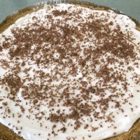 No-Bake Double Layer Pudding Pie