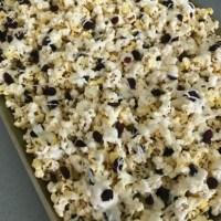White Chocolate Cranberry Popcorn