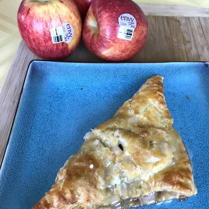 Cinnamon Apple Turnovers with Maple Drizzle