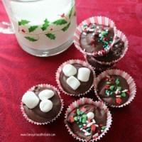 Hazelnut Hot Chocolate Drops