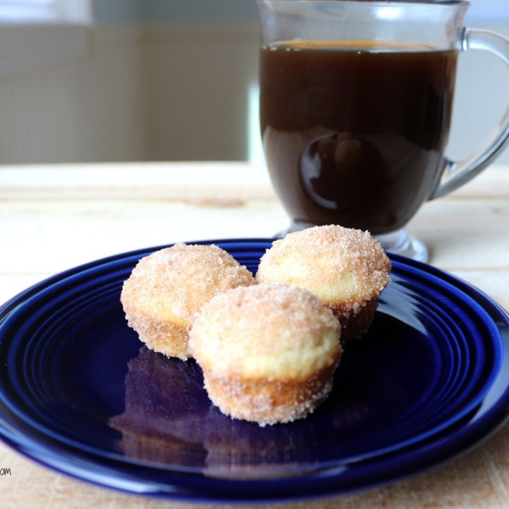 Mini Cinnamon Sugar Muffins
