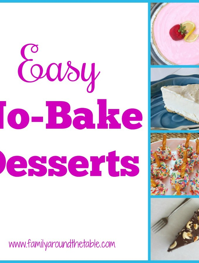 13 easy no-bake desserts perfect for all your summer entertaining.