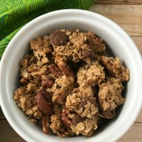 Chocolate Chip Maple Pecan Granola